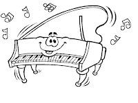 פסנתר לצביעה