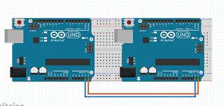Cara Komunikasi Dua Arduino I2C