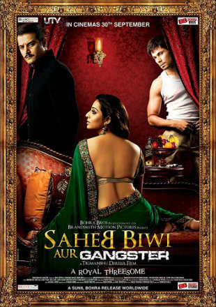 Saheb Biwi Aur Gangster 2011 DVDRip 850MB Hindi 720p Watch Online Full Movie Download bolly4u