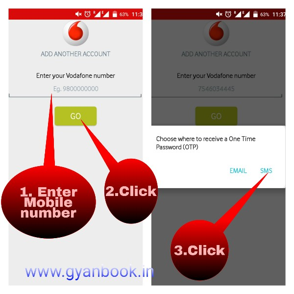 Vodafone register