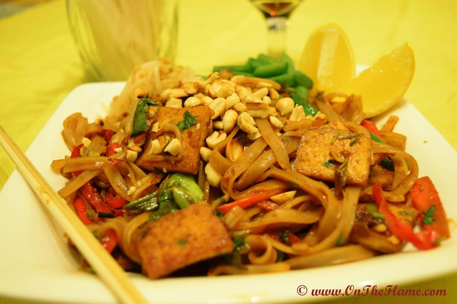 On The Flame: Vegetable & Tofu Pad Thai