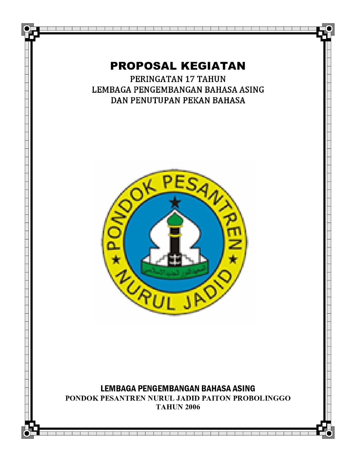 contoh cover proposal formal