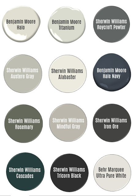An Entire House Paint Color Scheme plus Which we LOVE and which we regret!