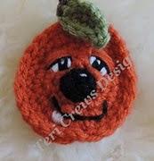 http://www.ravelry.com/patterns/library/cute-pumpkin-applique