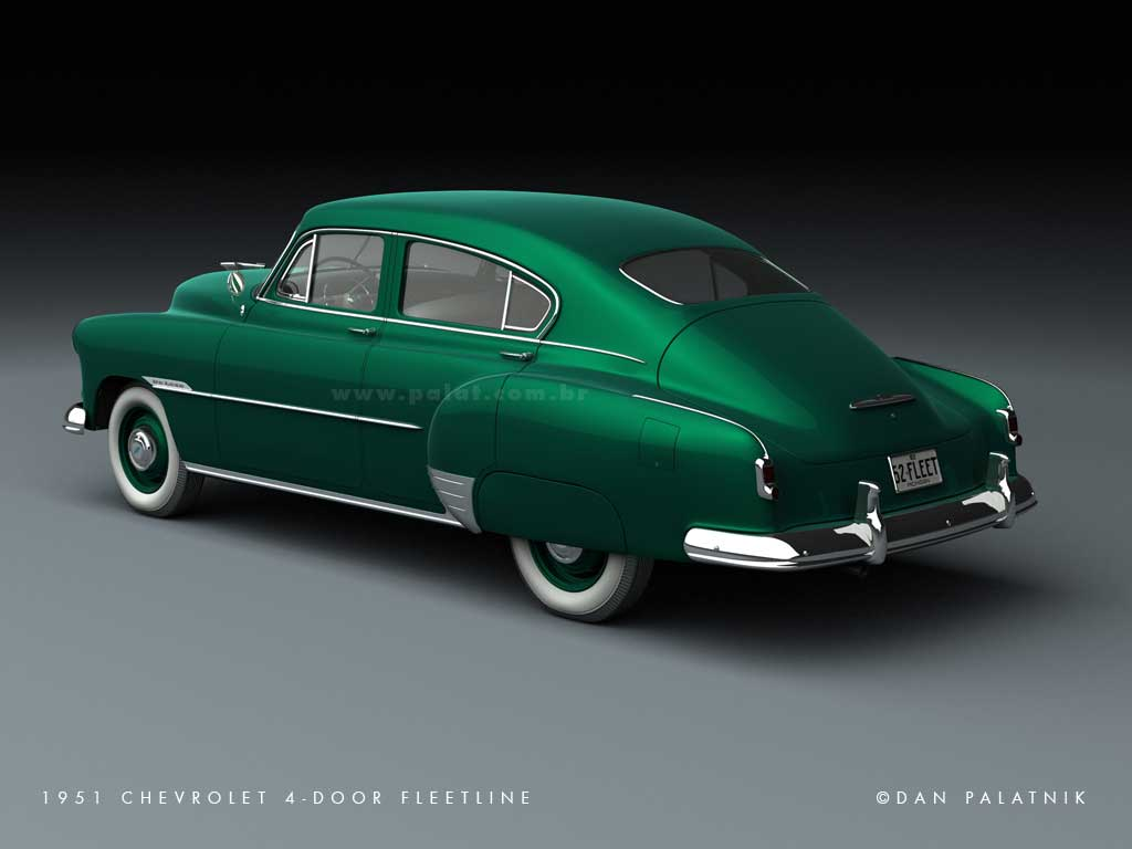 All Chevy 1951 chevrolet fleetline : A Garagem Digital de Dan Palatnik | The Digital Garage Project ...