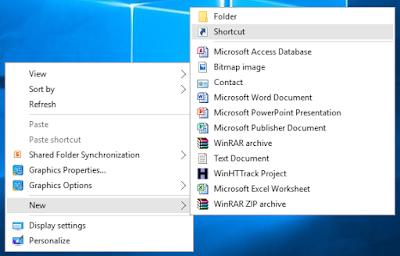 Cara Paling Mudah Membuat Shortcut Internet Pada PC Windows