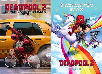 Deadpool 2 IMAX Teaser Theatrical One Sheet Movie Posters