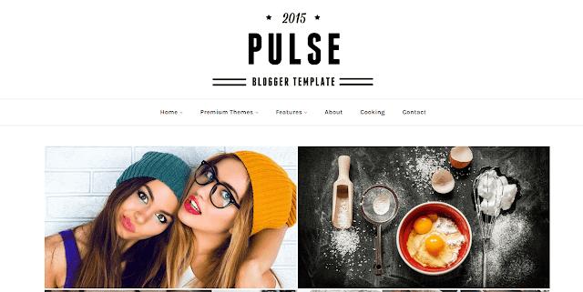 Pulse Blogger Template
