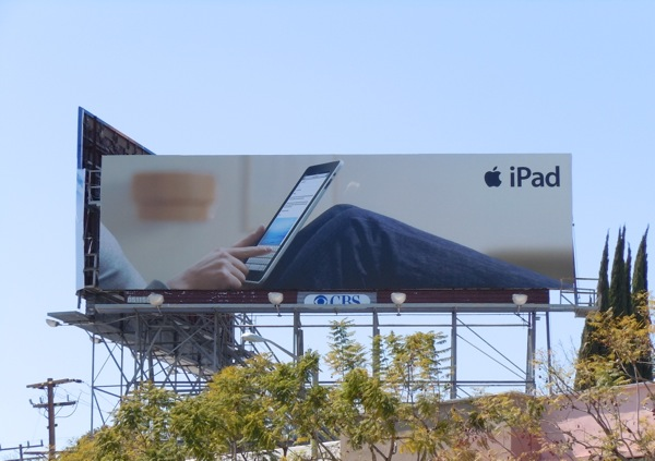 Apple iPad launch advertising