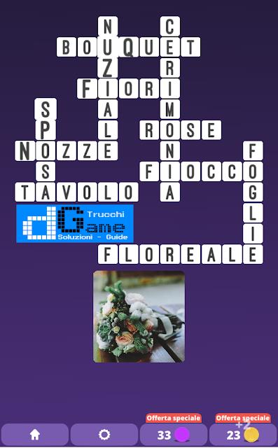 Soluzioni One Clue Crossword livello 22 schemi 6 (Cruciverba illustrato)  | Parole e foto