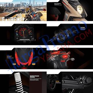 Fitur dan Spesifikasi Yamaha X Ride Terbaru