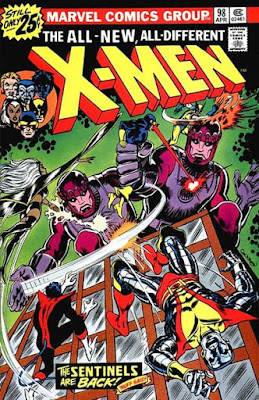 X-Men #98, the Sentinels