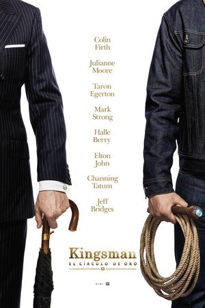 Poster Kingsman: The Golden Circle 2017