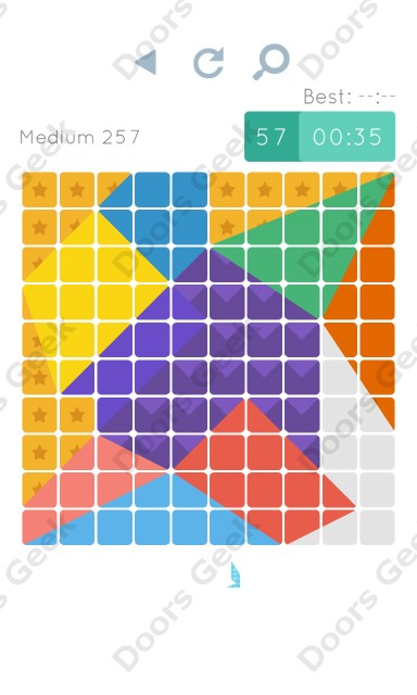 Cheats, Walkthrough for Blocks and Shapes Medium Level 257