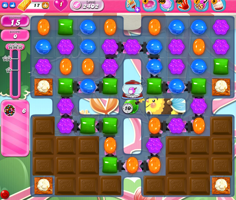 Candy Crush Saga level 2402