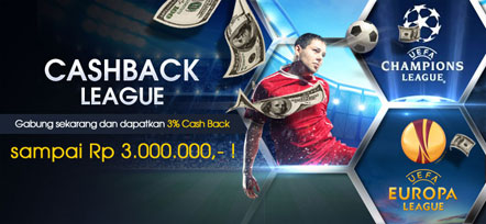 Dapatkan 3% cash back sampai dengan Rp 3.000.000