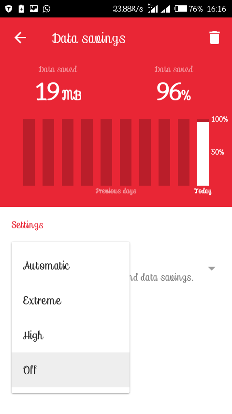 How to make your Opera mini app display like Google Chrome - Best