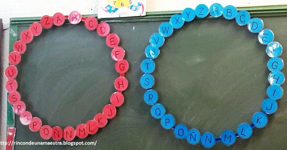 Rincón de una maestra: Pasapalabra
