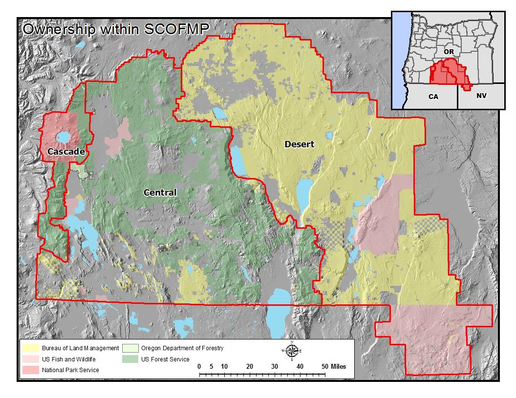 South Central Oregon Fire Management Partnership Emergency Road