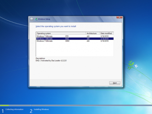 Download Windows 7 SP1 Ultimate X64 3in1 OEM ESD ENU Mar2019
