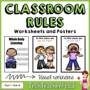classroom, rules, posters, class, behaviour, behavior, management,