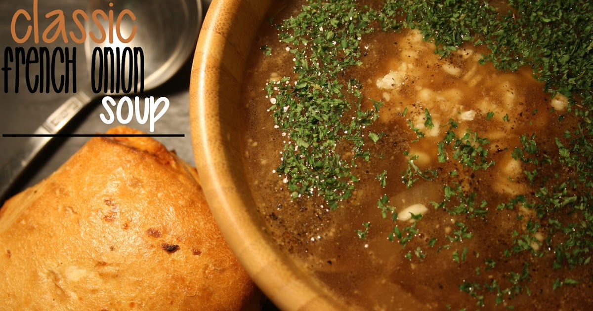Classic French Onion Soup Recipe Food Network