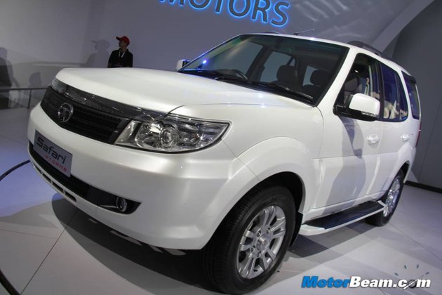 Tata Safari Storme - Upcoming Car On Diwali