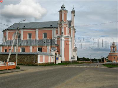 Боруны. Костел святого Петра и Павла