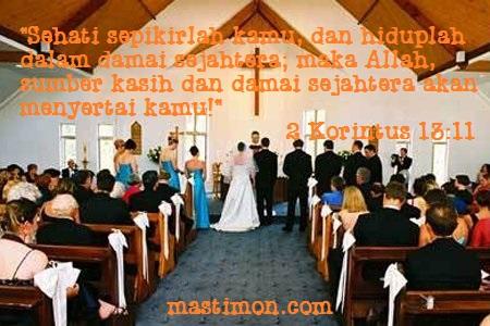 Kartu Ucapan Dan Kumpulan Kata Pernikahan Kristen Terbaru 2018