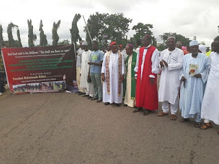 Boko Haram: Religious Bodies Stage Rally At Villa, Say Worst Days Are Over