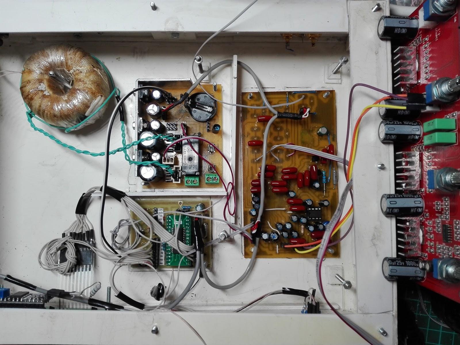 схема автоматического отключения усилителя от сети