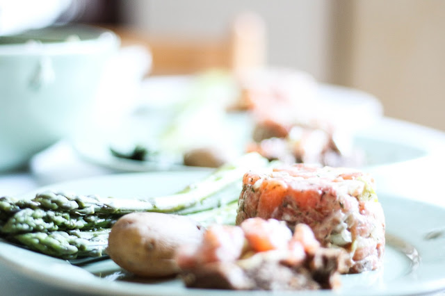 Recette facile apéritif et plat poisson