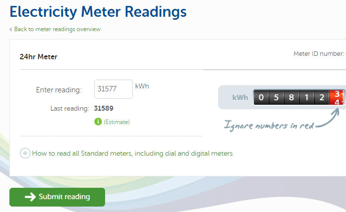Stello Blog: On electricity meter readings - and bills