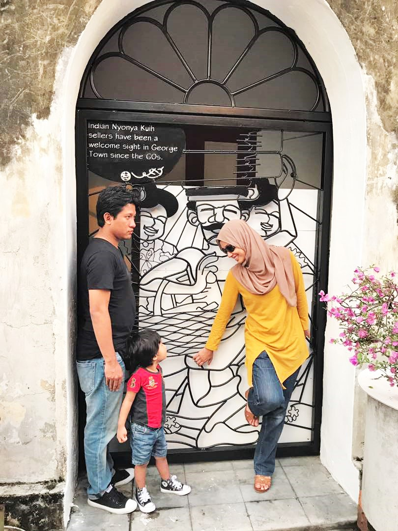 Short Vacay In Penang│ Penang Street Art