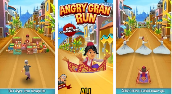 Angry Gran Run Running Game v1.55 (MOD Unlimited Money+Unlocked)