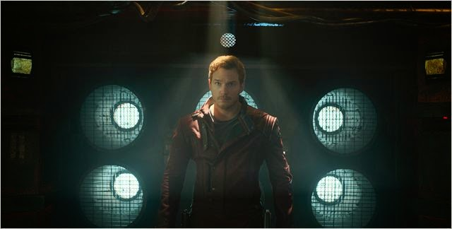 Chris Pratt es Peter Quill en Guardianes de la Galaxia