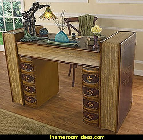 Literary Volumes Writing Desk
