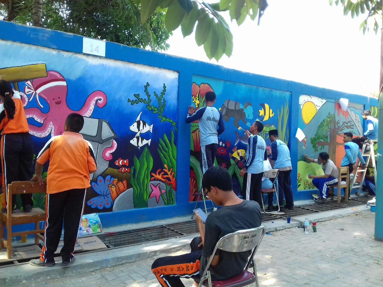 Lukisan Dinding Sekolah Menengah Cikimm Com