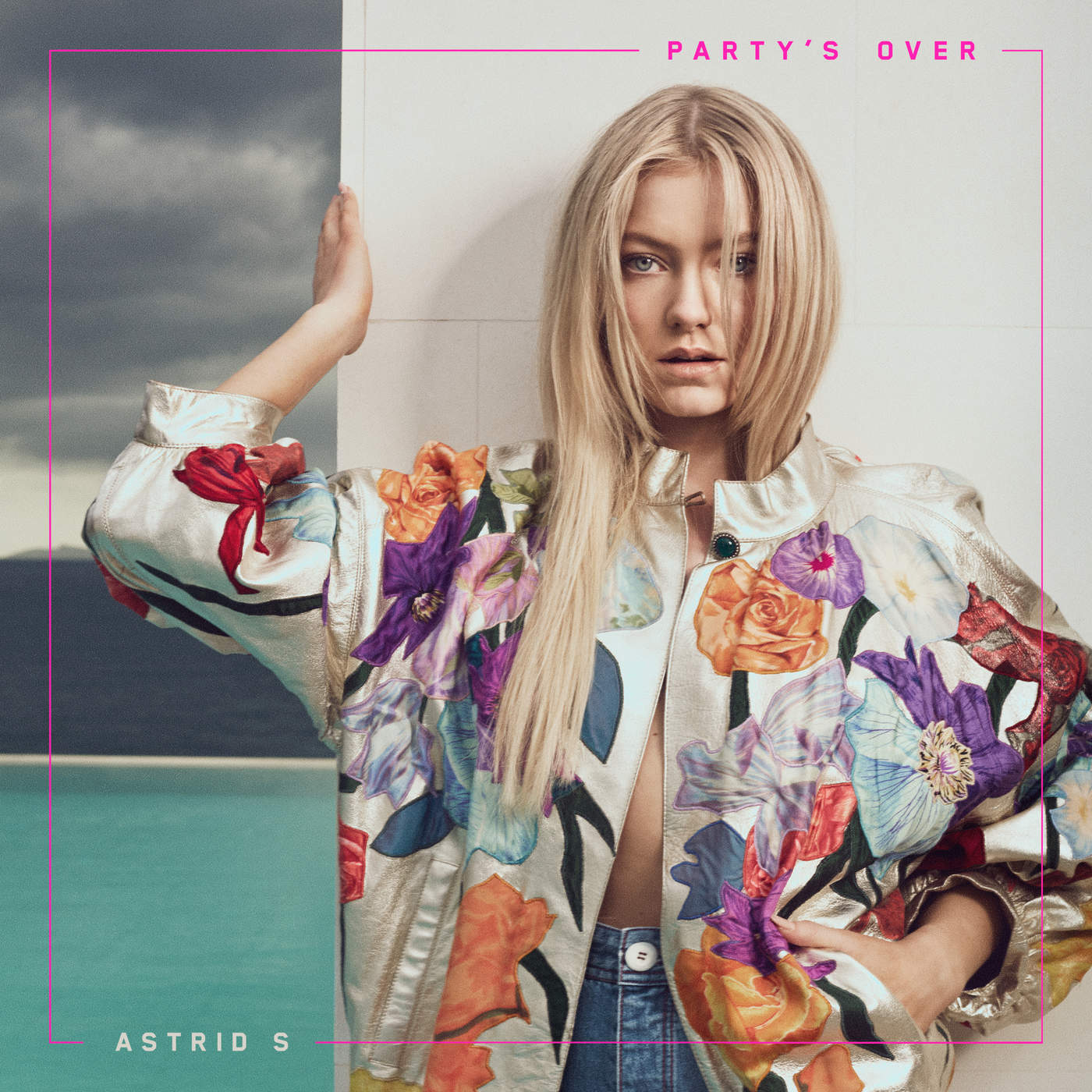 Astrid S - Party's Over - Single Cover