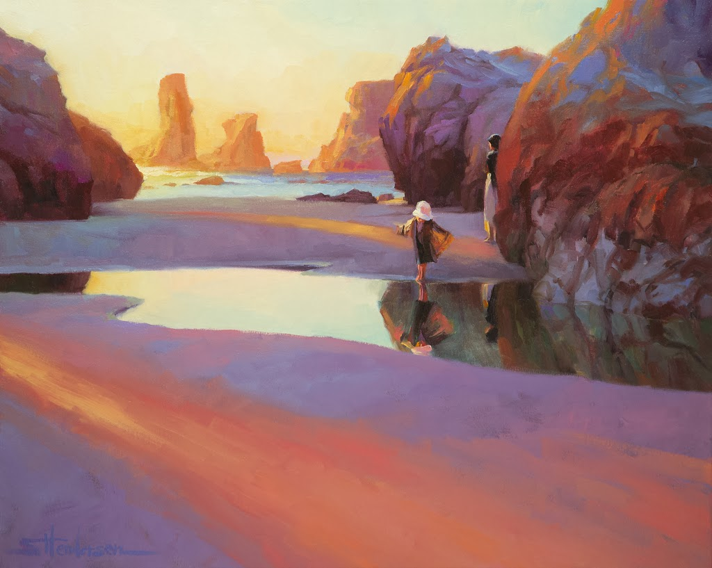 Steve Henderson 1957 Realism Impressionist Painter
