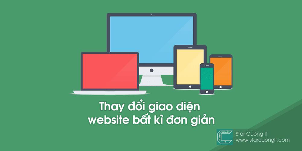 Thay đổi giao diện website bất kì đơn giản với Stylish