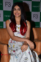 Bollywood Actress Adah Sharma Pos in White Printed Short Dress at OPPO F3 Plus Selfie Expert Mobile Launch .COM 0032.jpg