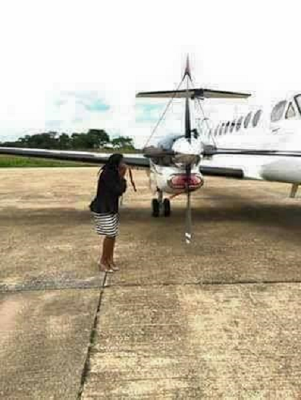 Zambian man reportedly buys wife a Private Jet worth $14M for Valentine