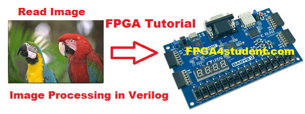 Image processing on FPGA using Verilog HDL