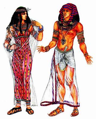Одежда царей Древнего Египта
