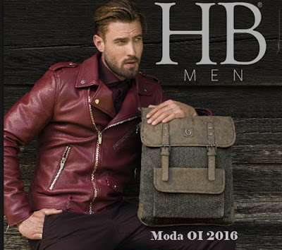 bolsos para hombres HB otoño invierno 16