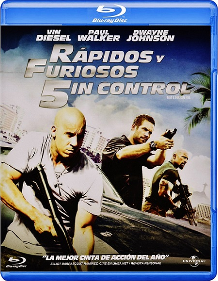 Fast Five EXTENDED (Rápidos y Furiosos 5in Control) (2011) m1080p BDRip 12GB mkv Dual Audio DTS-HD 5.1 ch