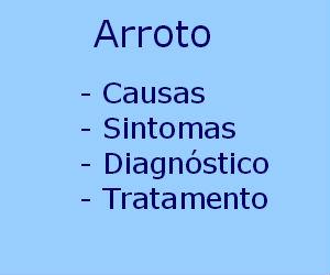 Arroto causas sintomas diagnóstico tratamento prevenção