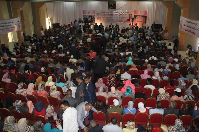 أمام حشود استقلالية غفيرة تنظيم دورة المجالس الإقليمية ببرشيد