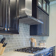 Design in the Woods: How to make your kitchen backsplash design NOT look DIY, even if you did do it yourself